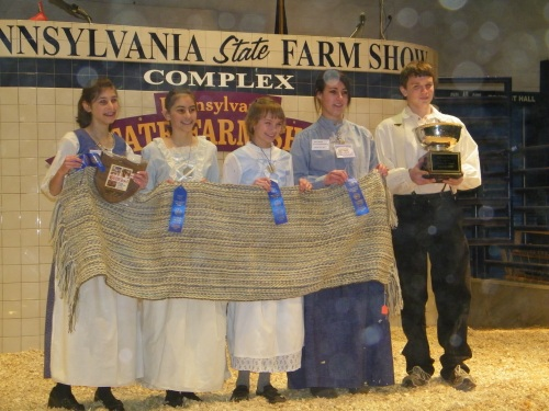 2009 Fleece To Shawl Grand Champions - Fort Freeland Flickers