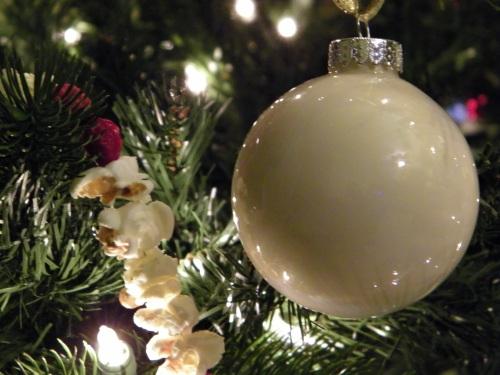 Handmade ornament by Val.