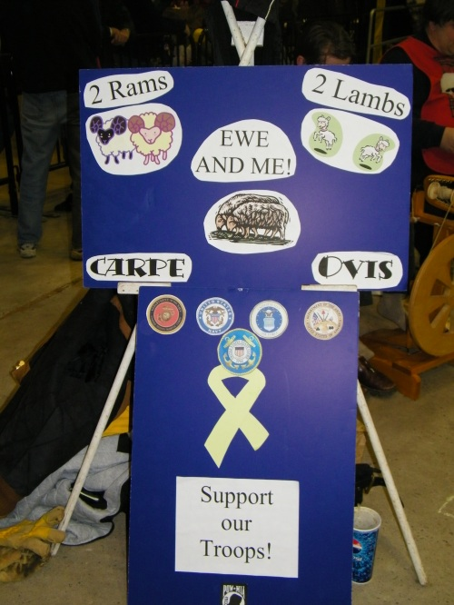 Team Two Rams, Two Lambs, Ewe & Me