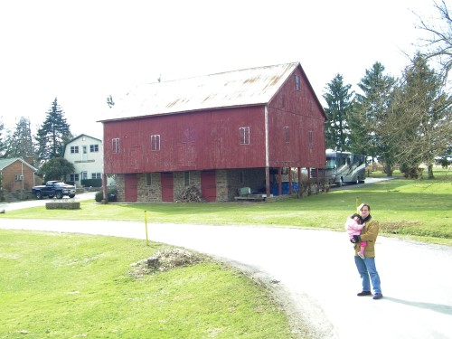 The Big Red Barn at The Mannings.