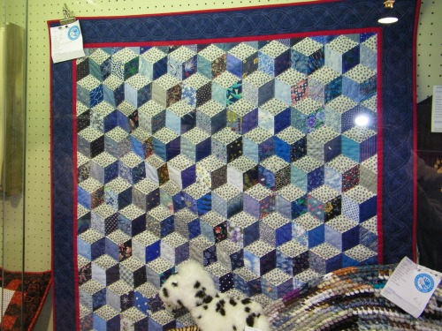 I don't know much about quilting, but this one looks complicated.